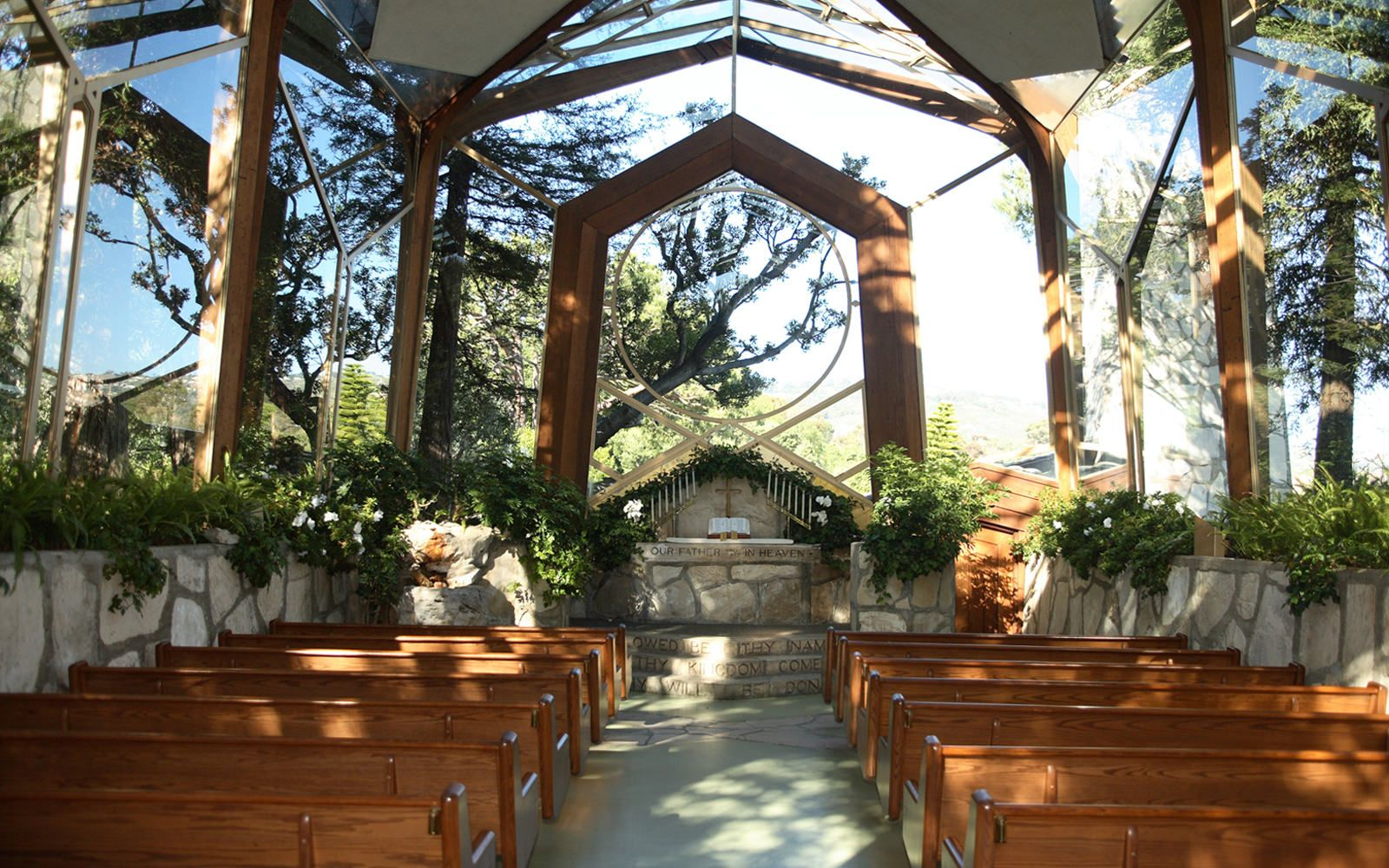 Wayfarers Chapel Best Beach Wedding Locations Los