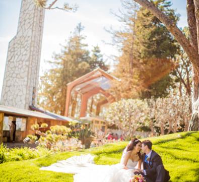 Wayfarers Chapel Wedding.Gallery Weddings Wayfarers Chapel