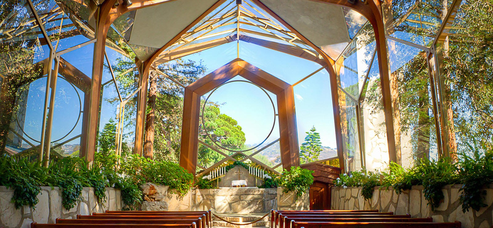 A photo of the interior of the Chapel