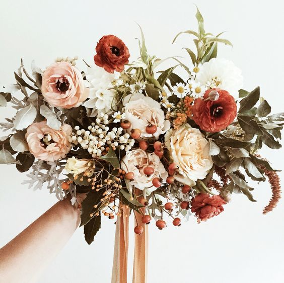 Some Of The Best Blooms Are Available In November Which Means Your Autumn Wedding Will Be Full Pinterest Worthy Bouquets And Arrangements