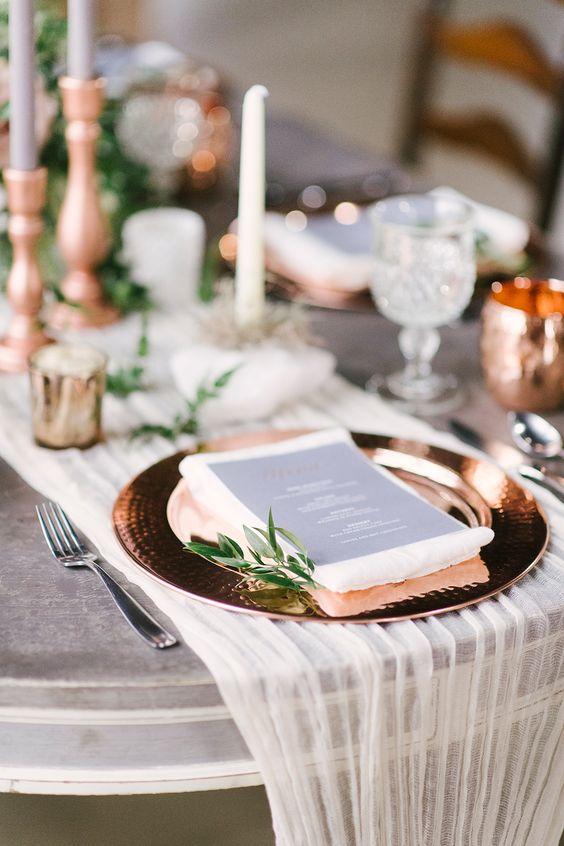 Rose Gold Wedding Ideas · Wayfarers Chapel