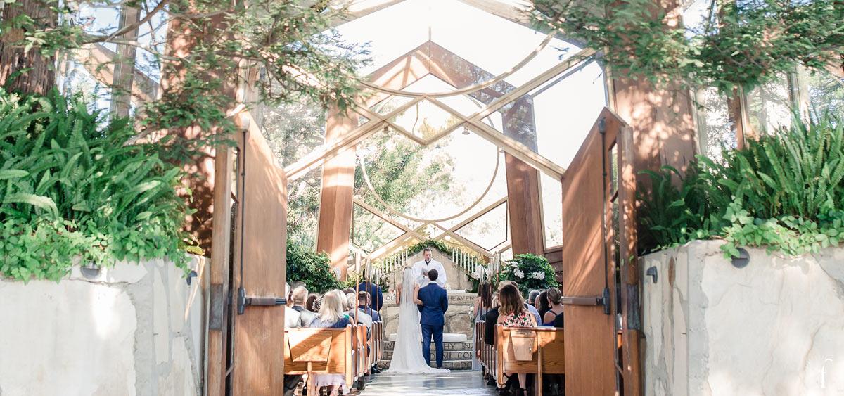 wayfarers chapel wedding - figlewicz photography